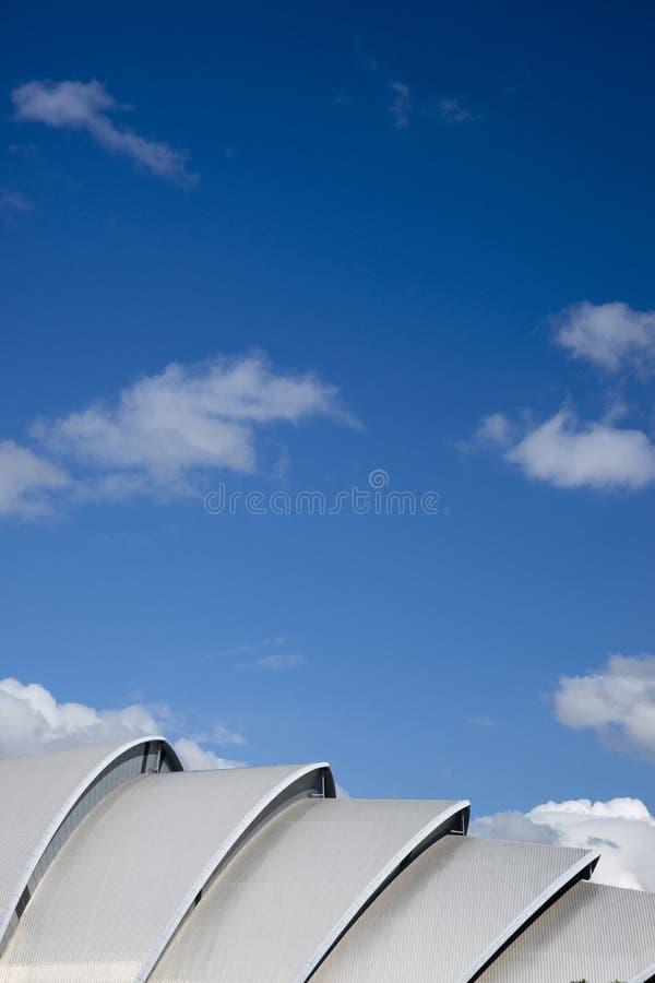 亦称格拉斯哥,苏格兰,2013年9月7日,SEC克莱德观众席SEC犰狳 库存照片