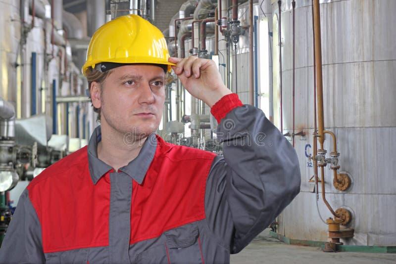 产业工人 图库摄影