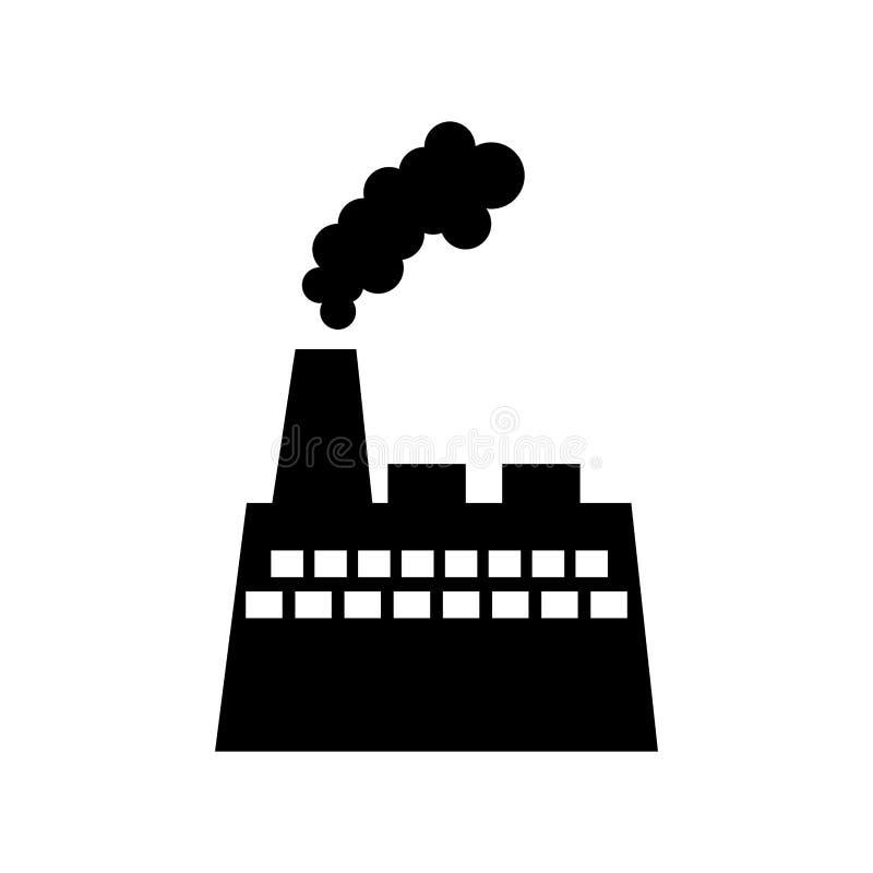 产业工厂厂房象 库存例证
