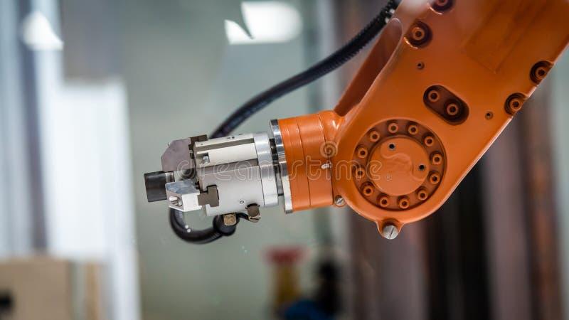 产业机器人手机制技术 库存照片