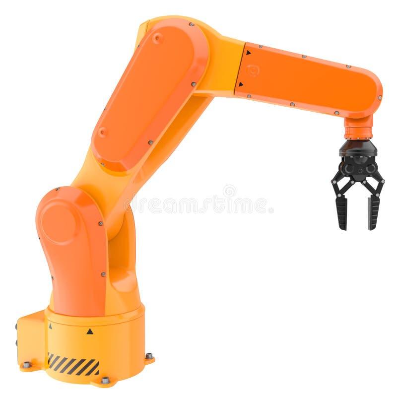 产业机器人胳膊 库存例证