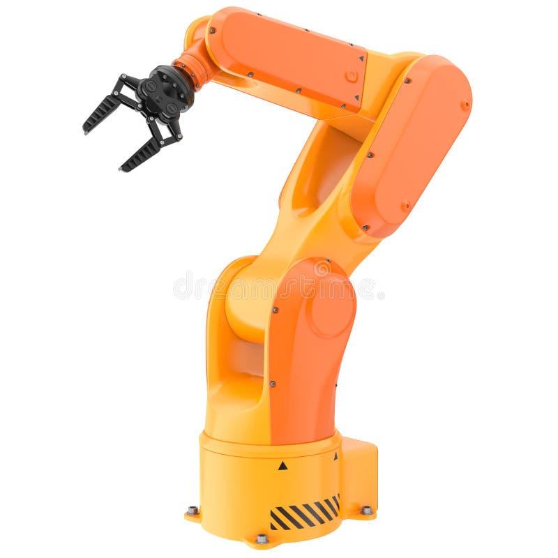 产业机器人胳膊 向量例证
