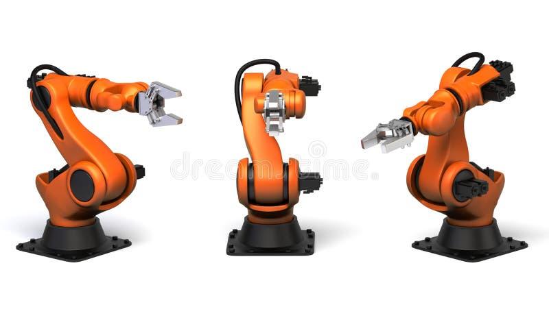 产业机器人 库存例证