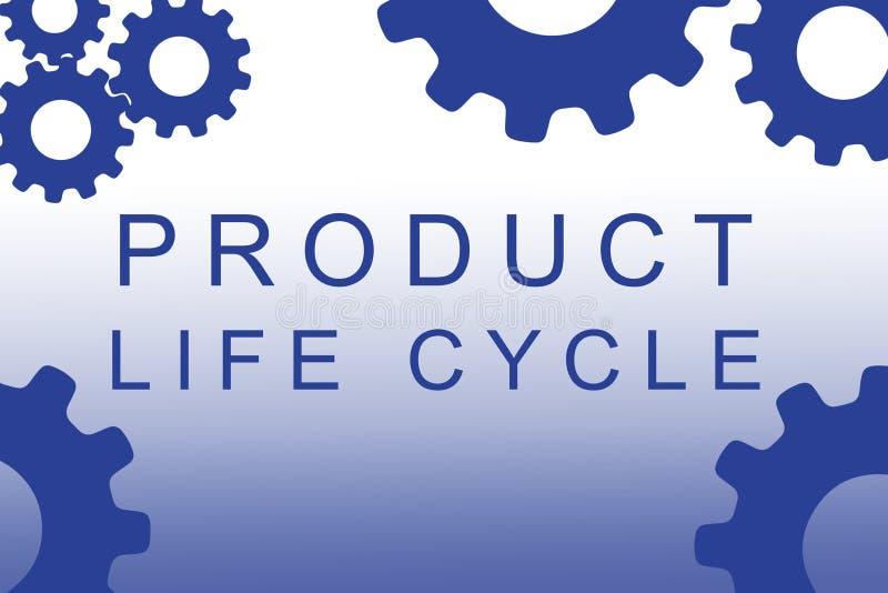 产品寿命概念 库存例证