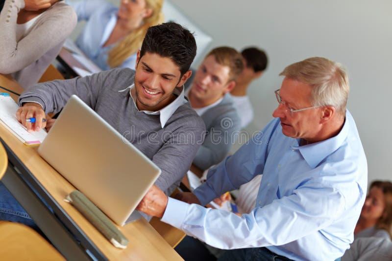 产生教师的协助选件类 免版税图库摄影