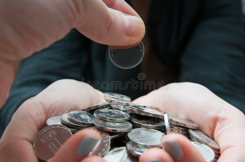 产生货币 免版税库存照片