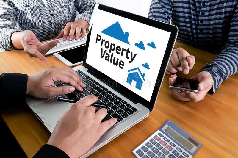 财产价值住宅贷款购买协议对居住的Mo 库存照片