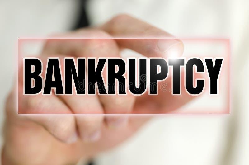 破产 免版税库存图片