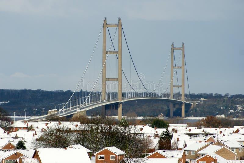 亨伯桥,赫尔河畔京士顿 库存图片