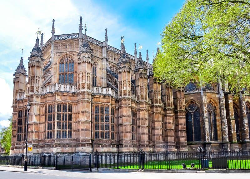 亨利七世教堂,西敏寺,伦敦,英国 免版税库存照片