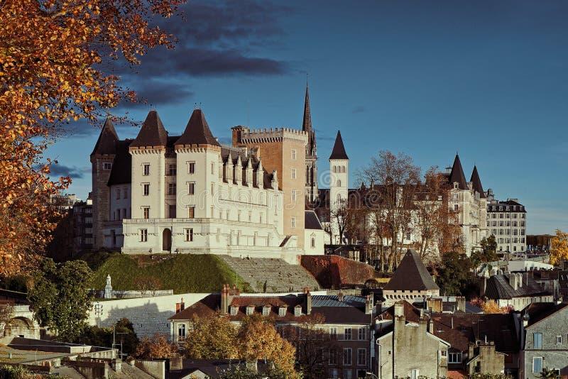 亨利四世国王城堡  库存图片