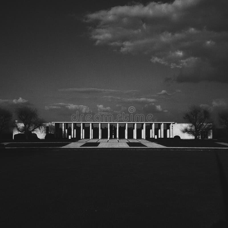 亨利Chapelle美国战争公墓 免版税库存图片