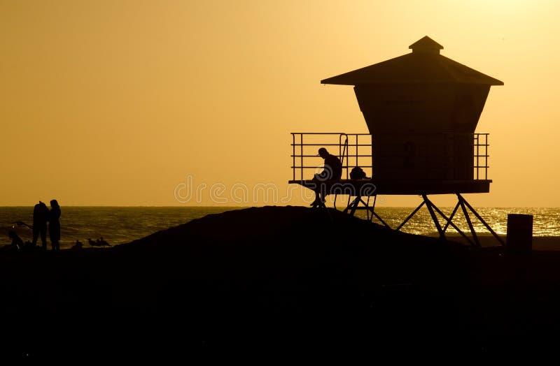 亨廷顿海滩 免版税库存照片
