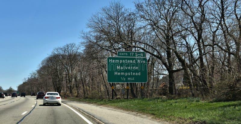亨普斯特德纳苏郡纽约美国 图库摄影