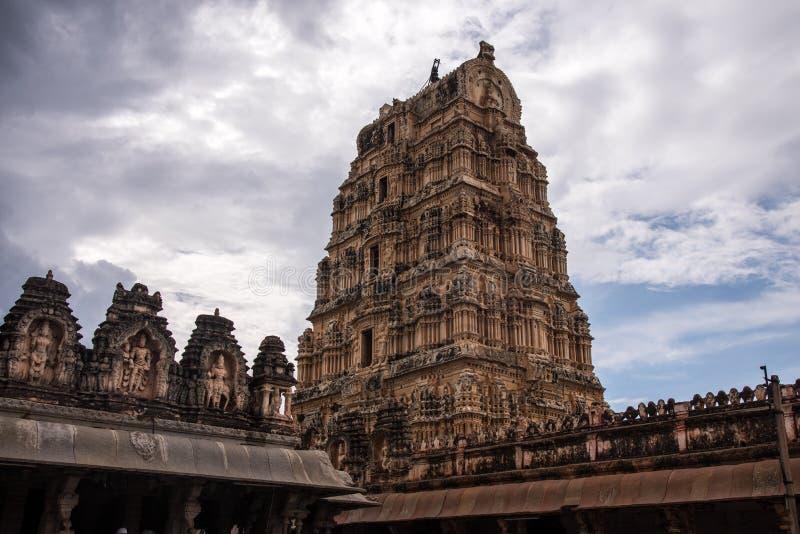 亨比印度寺庙 免版税库存照片
