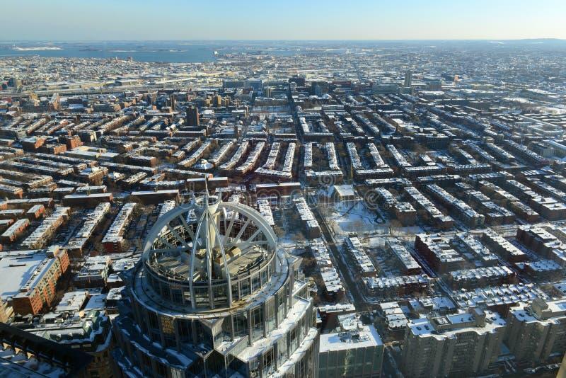 111亨廷顿大道大厦,波士顿,马萨诸塞 免版税库存图片