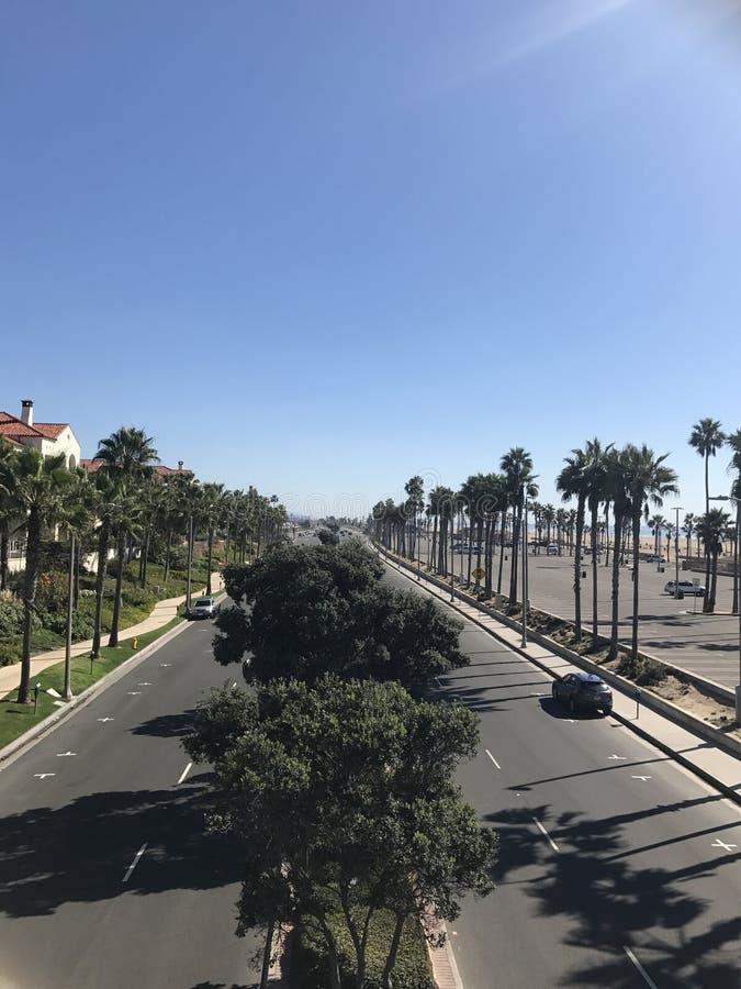 亨廷顿海滩,加利福尼亚 库存图片