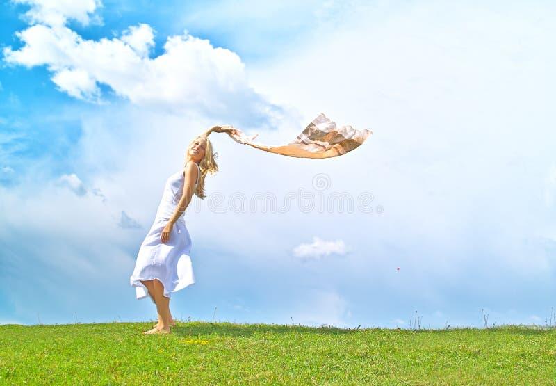 享受夏时 免版税图库摄影
