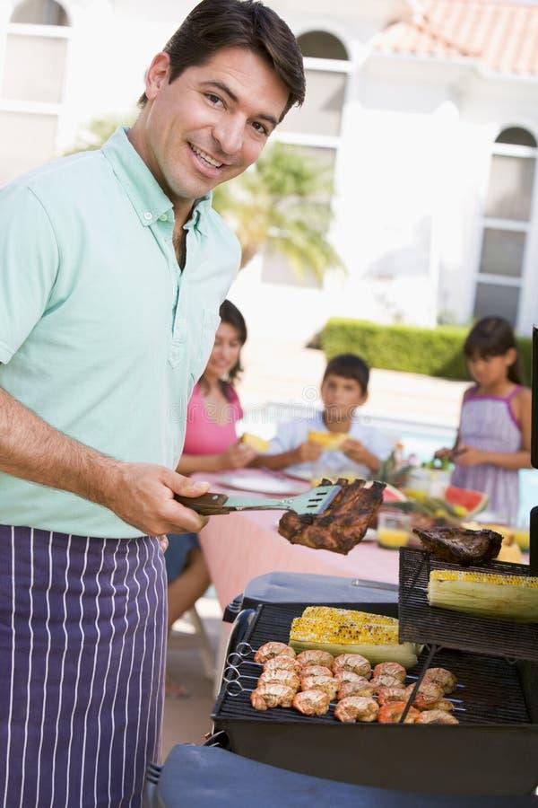 享用系列的烤肉 库存图片