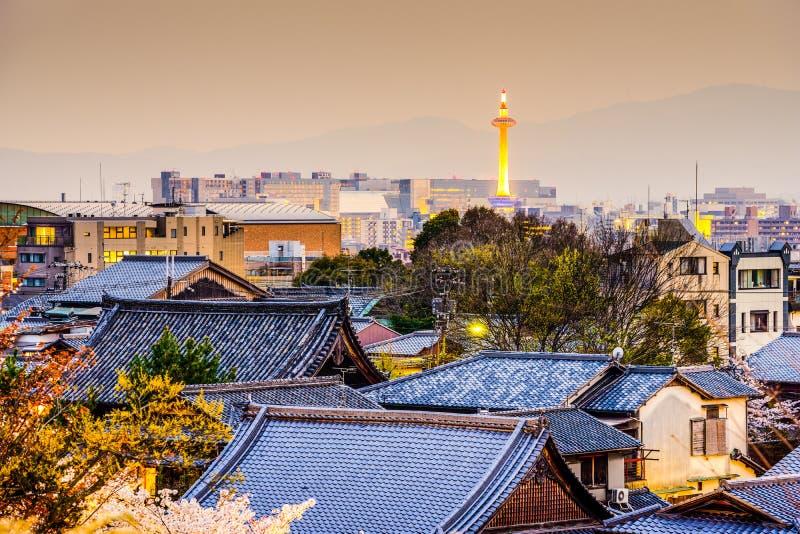 京都地平线 免版税库存图片