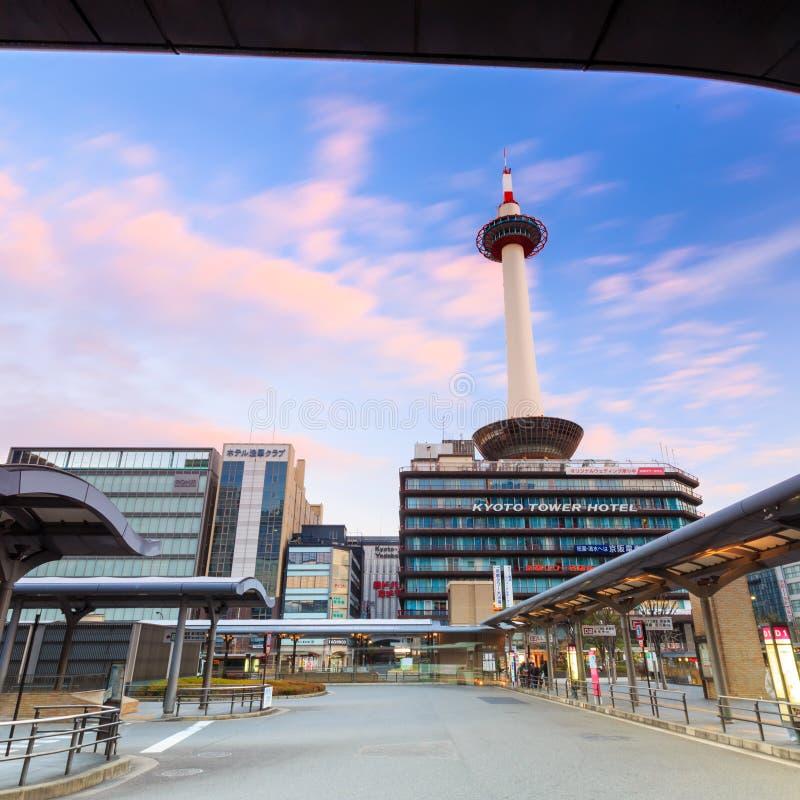 京都塔 免版税库存图片