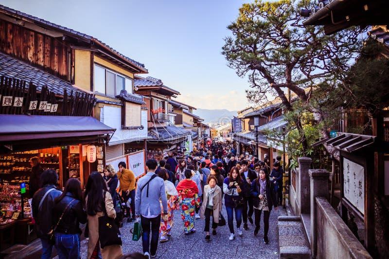 京都街道 免版税库存照片