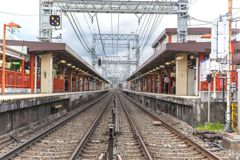 京都驻地& x28; Fushimi Inari-taisha& x29; 免版税库存图片