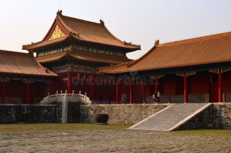 亭子,故宫,北京,中国 免版税库存图片