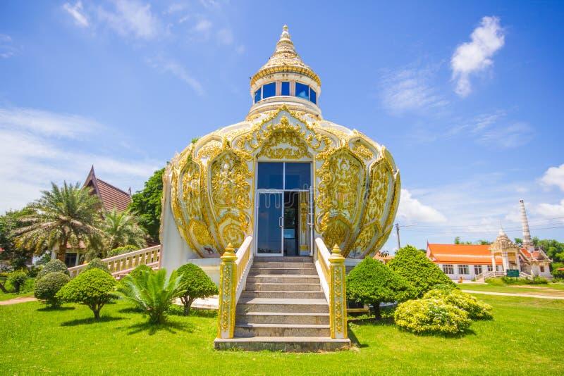 亭子(棒Bo圣父金钱) Wat杨Phichit的泰国Khoi Kluea 免版税库存图片