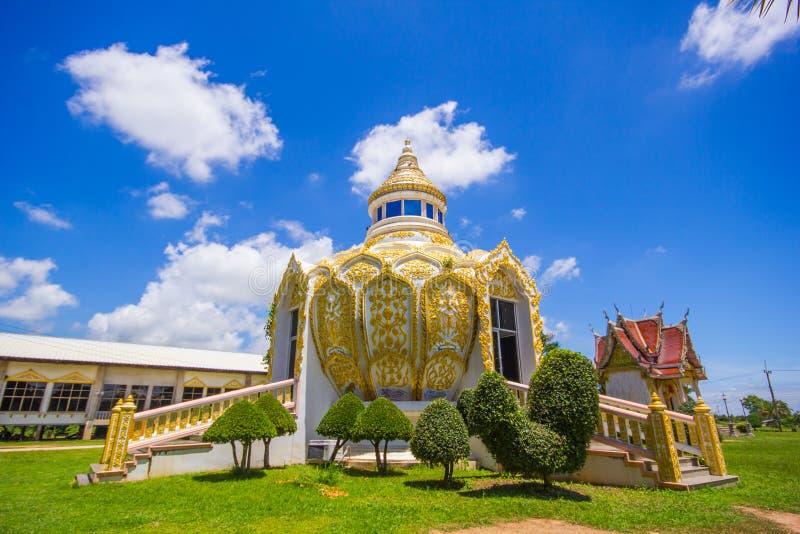 亭子(棒Bo圣父金钱) Wat杨Phichit的泰国Khoi Kluea 免版税图库摄影