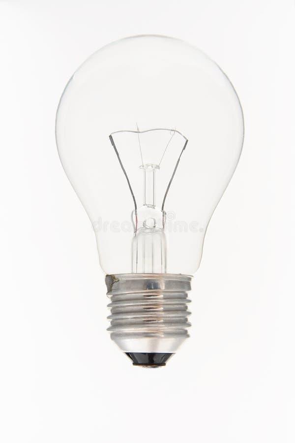 亮光电灯泡 免版税库存图片
