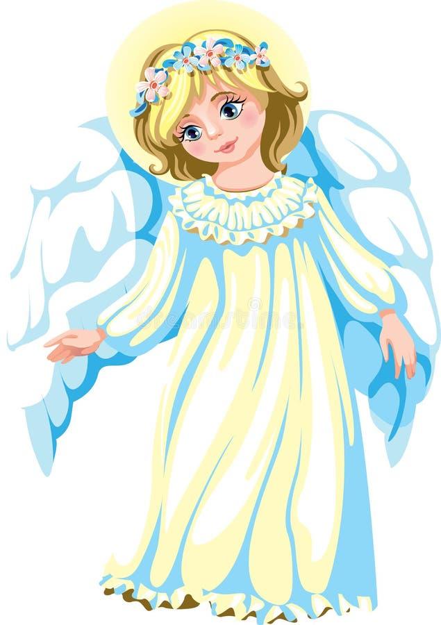 亲切的天使 库存例证