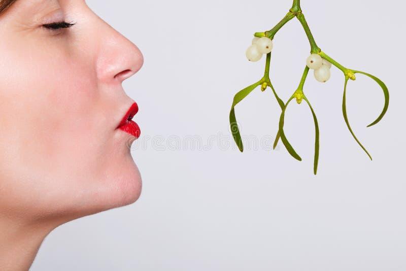 Download 亲吻在槲寄生之下 库存照片. 图片 包括有 姿态, 浪漫, 言情, 嘴唇, 红色, 几年, 眼睛, 表达式 - 22358334