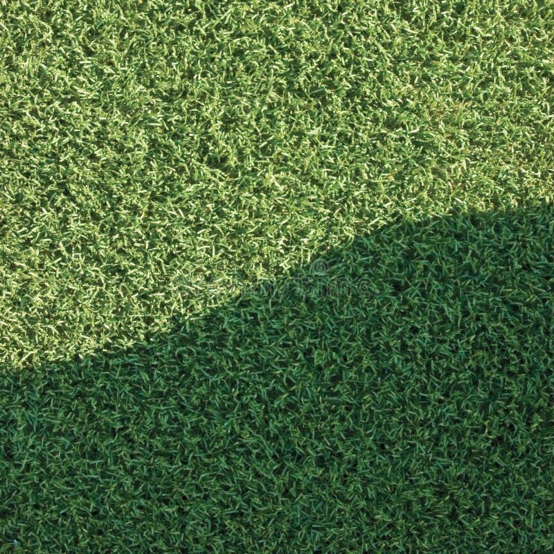 人为假域草草坪纹理草皮 免版税库存图片