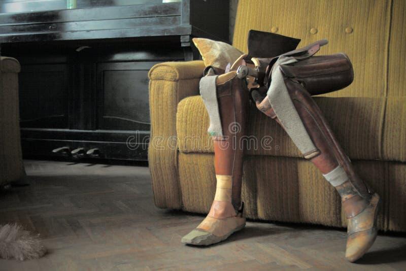 人为肢体 免版税库存图片