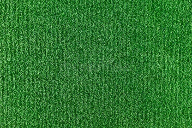 人为草地无缝的纹理  橄榄球、排球和篮球领域的绿色纹理 库存图片