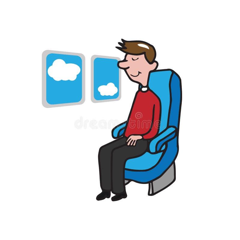 人乘客人 库存例证