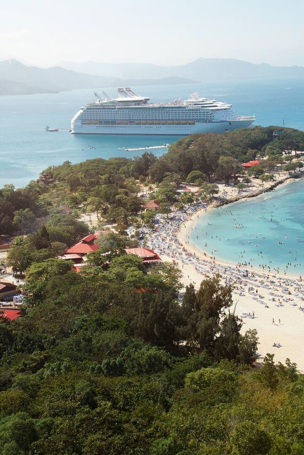 人们加勒比假期 免版税图库摄影