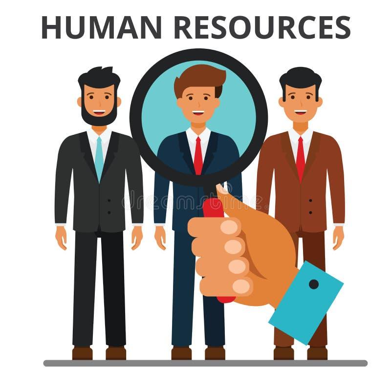人力资源概念例证 库存例证
