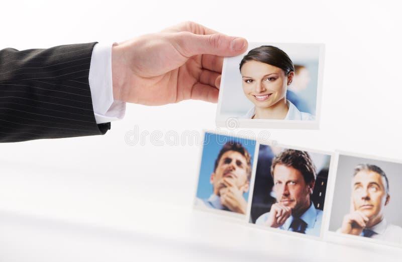 人力资源 免版税库存图片