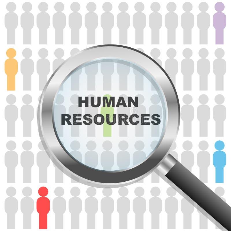 人力资源 向量例证