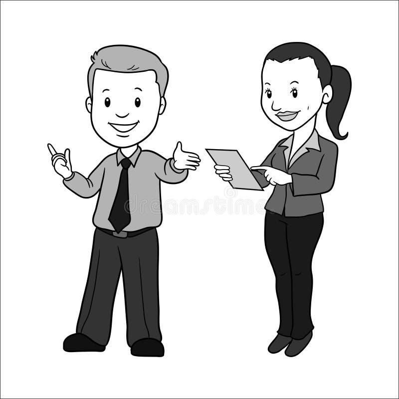 人妇女储蓄传染媒介Ilustration 向量例证