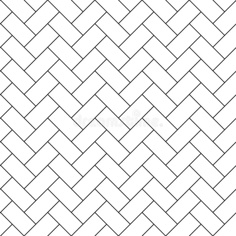 人字形木条地板对角无缝的样式 向量例证