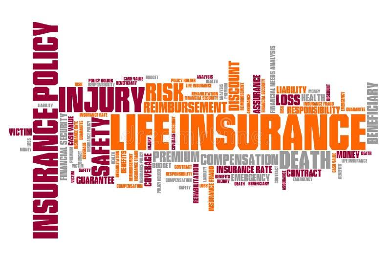 人寿保险 向量例证