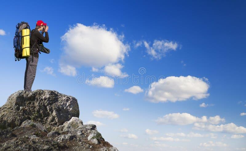 人山顶层 图库摄影