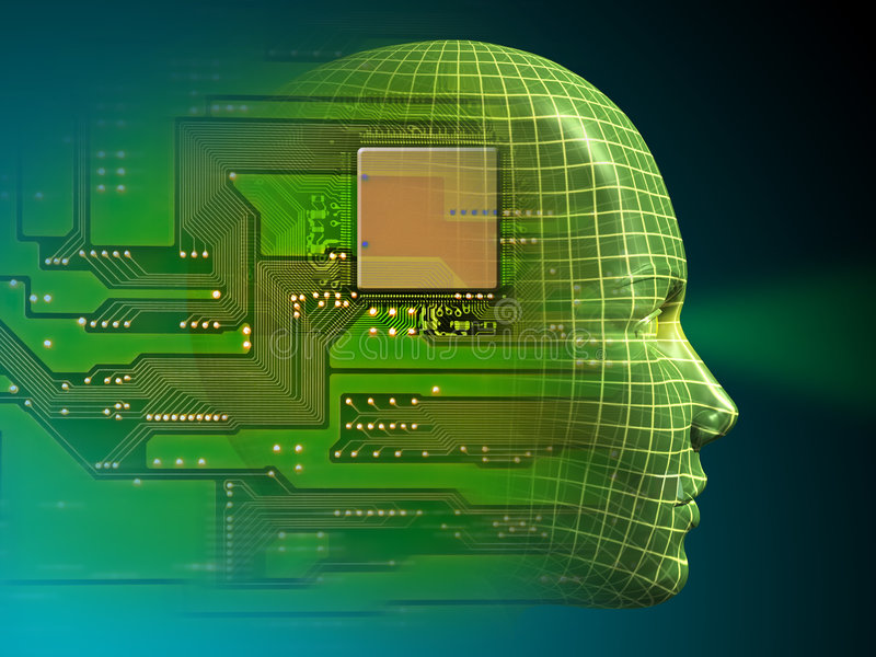 人工智能 向量例证