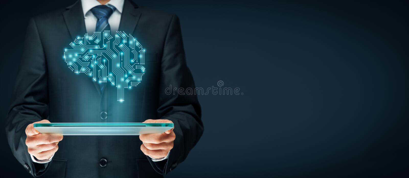 人工智能 免版税库存照片