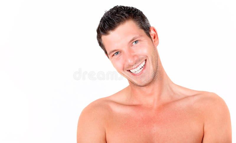 人微笑 免版税库存照片