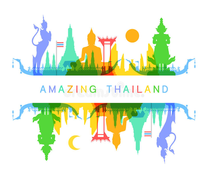 令人惊讶的泰国 免版税库存照片