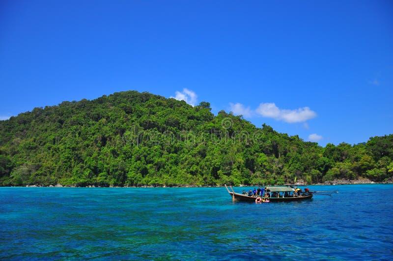 令人惊讶的素林海岛,泰国 库存图片